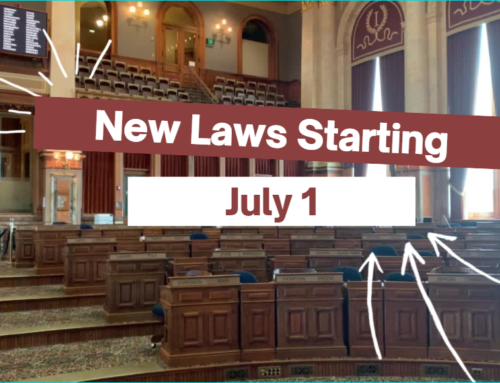 New Laws Take Effect July 1